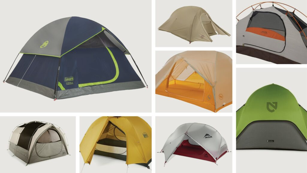 Multiple tents