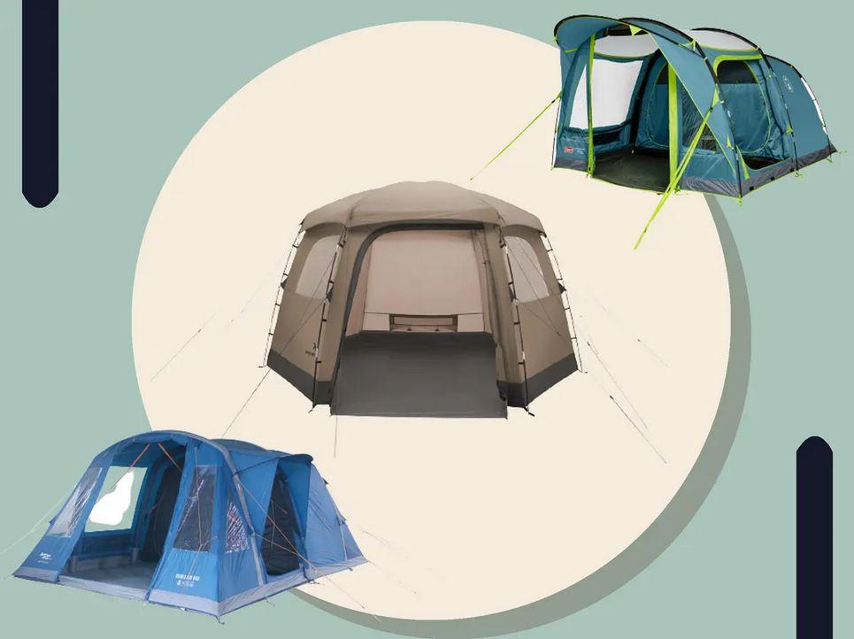 Hot tent camping