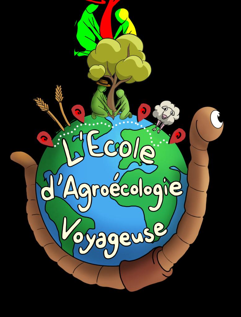 Logo de l'École d'Agroécologie Voyageuse