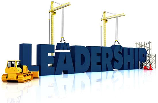 Leadership block letters