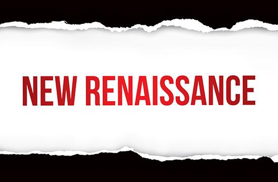 New Renaissance Text Graphic