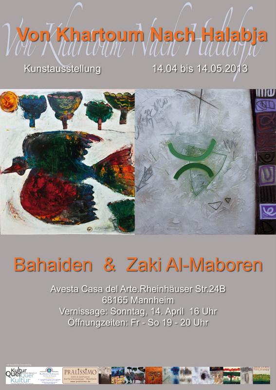 Ausstellung Bahaiden u Zaki Al-Maboren