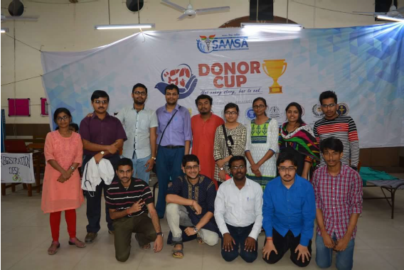 Street Play and Blood Donation Camp by Medical College Kolkata