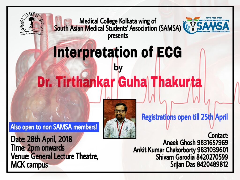 ECG Workshop at Medical College Kolkata