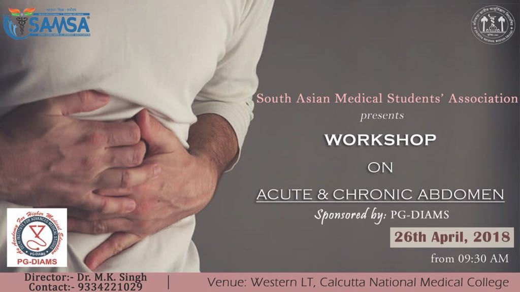 Acute and Chronic Abdomen workshop at CNMC