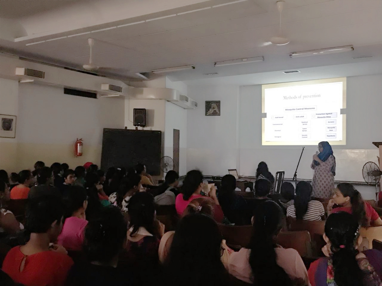 Awareness on Malaria and Dengue at Loreto College