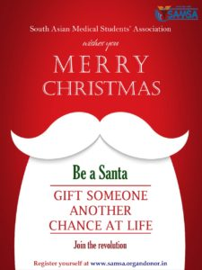 Read more about the article Be a Santa. Gift a Life