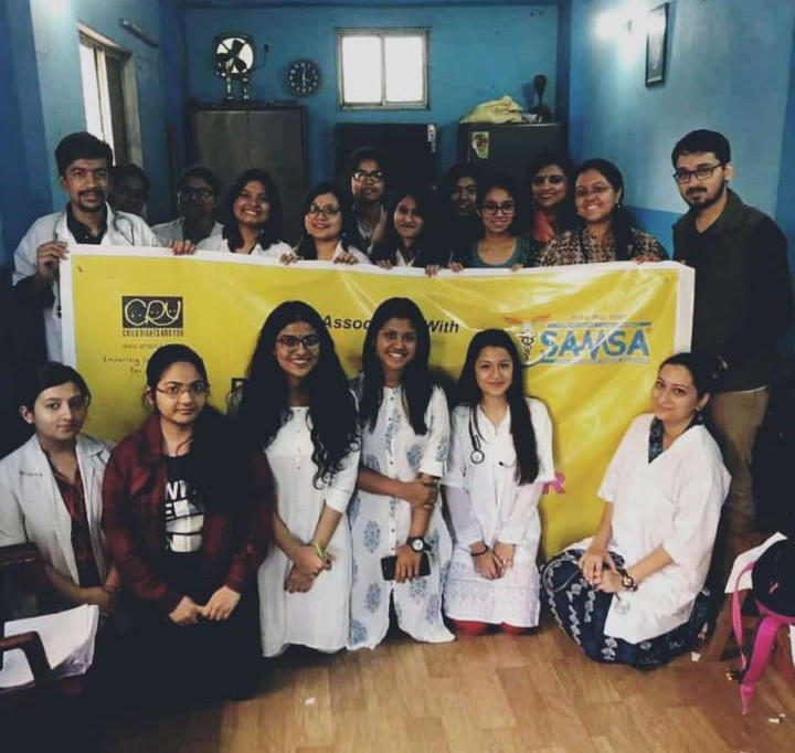 'Project Udaan' – A Health Camp under the CRY-SAMSA collaboration