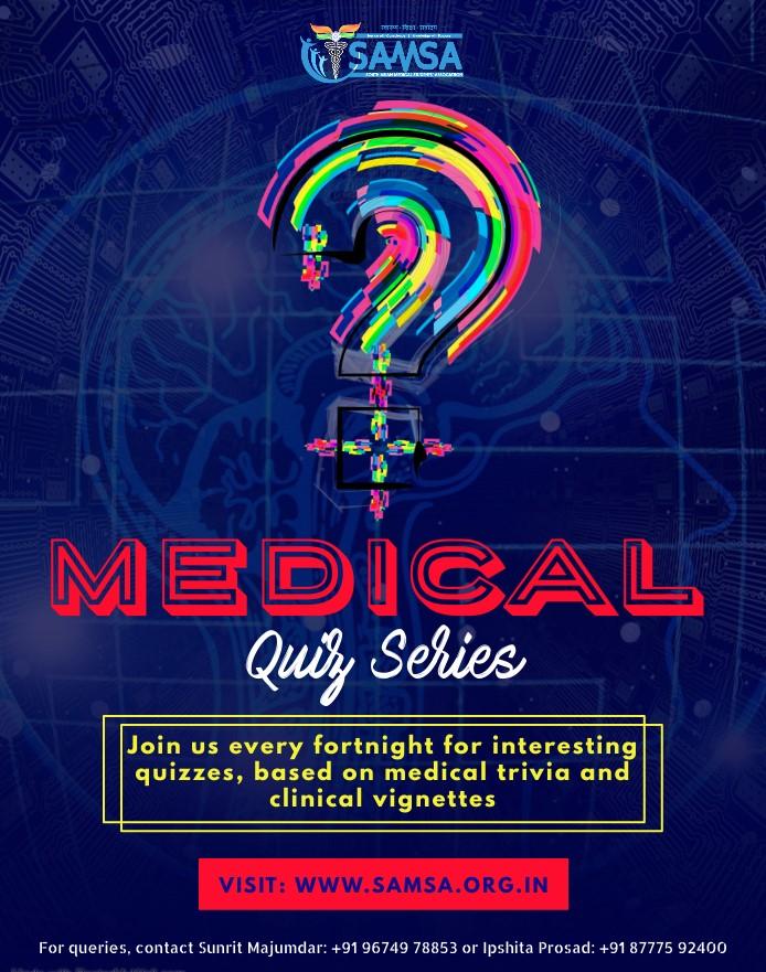 medical quiz poster