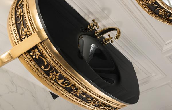 CLASSICO BLACK/GOLD VANITY