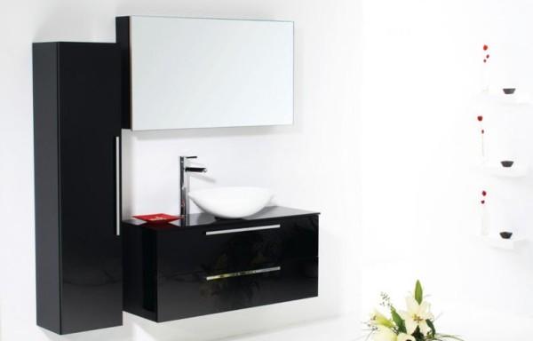 FLAT 9005 Black Glass