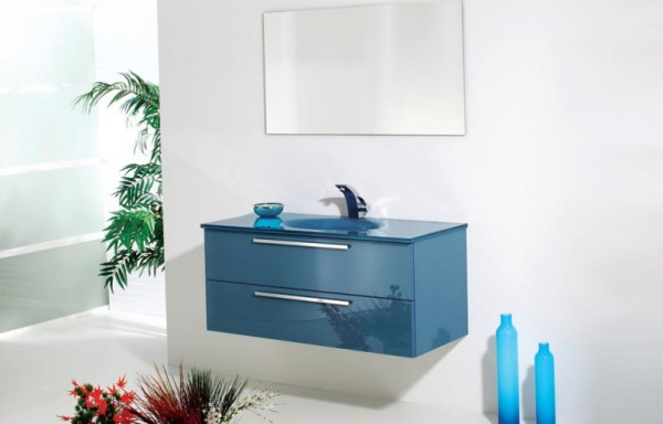 FLAT 5014 Blue Glass