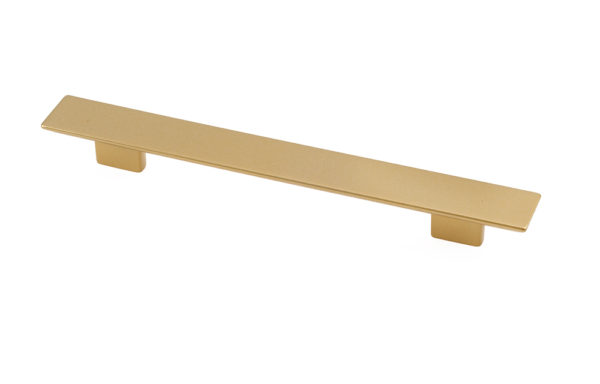 810431921600903 Matte Brass long rectangular pull