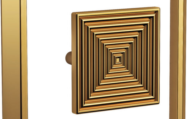 Two Piece Square Knob