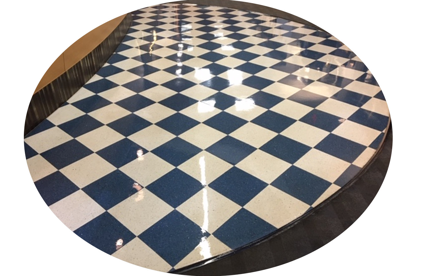 commercial waxing floors