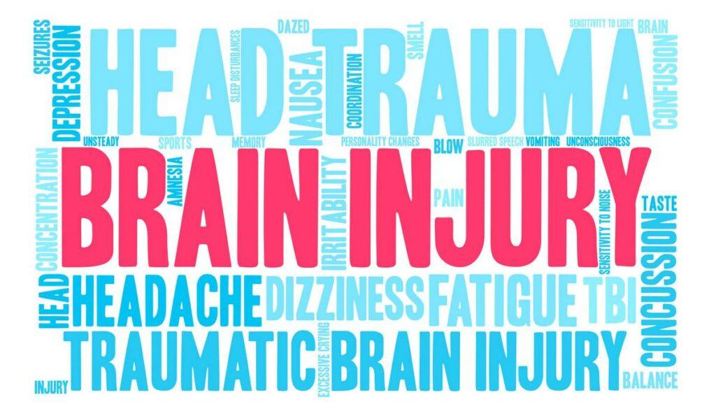 Brain Injury Word Cloud