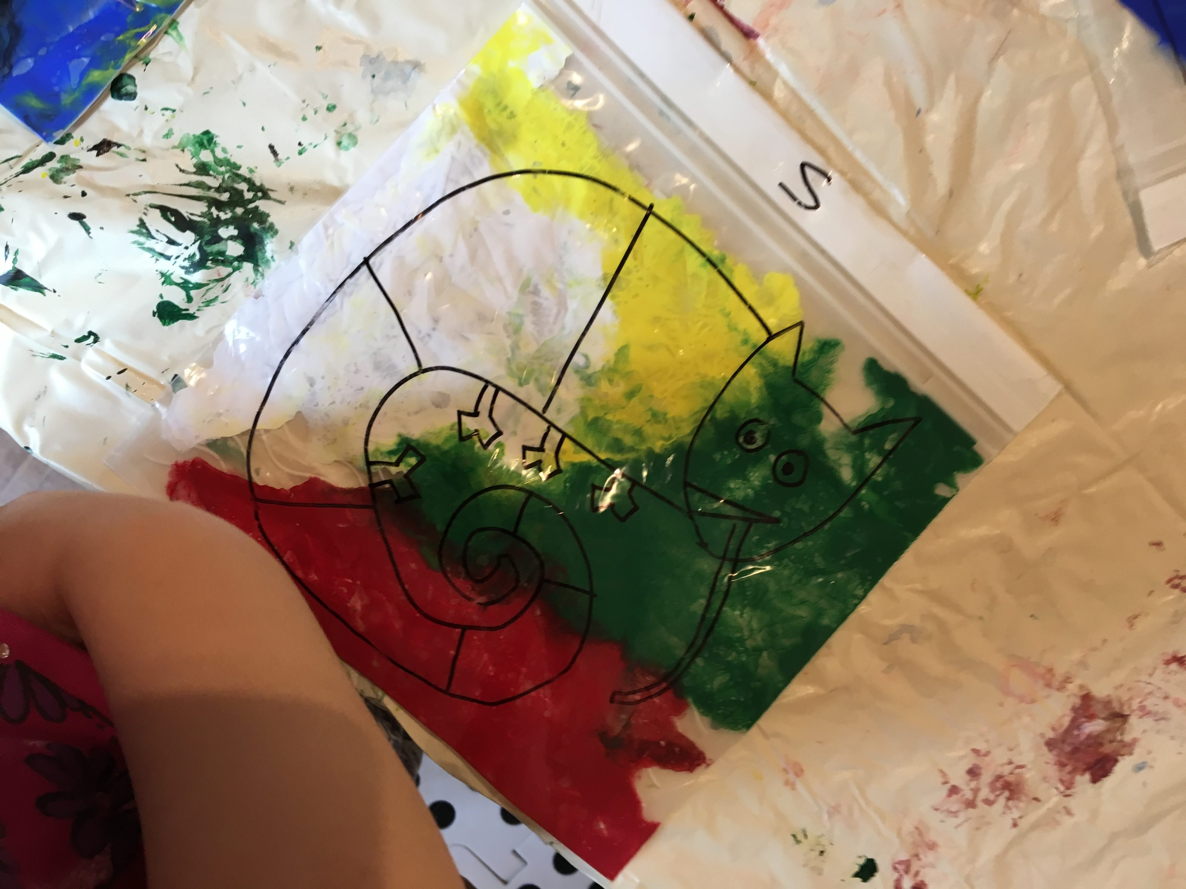 Craft - Mixing Paints