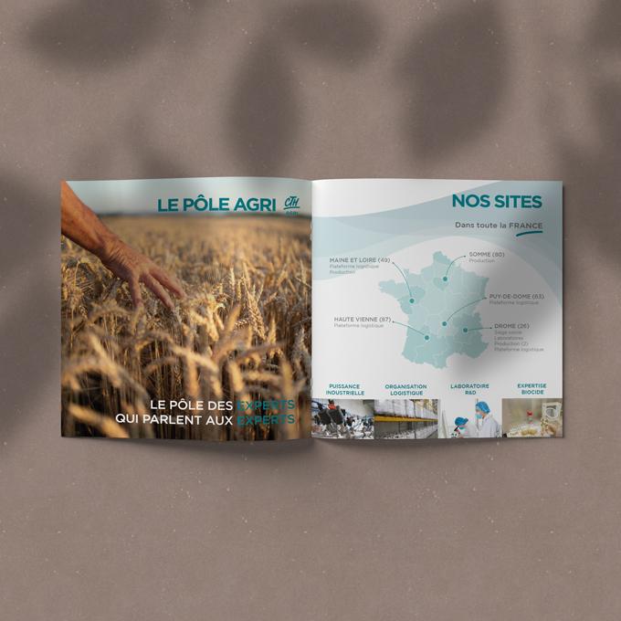 MULTINATIONALE AGRO / agri Identité Visuelle • Charte Graphique • Plaquette