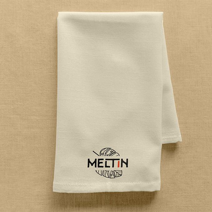 design serviette de table