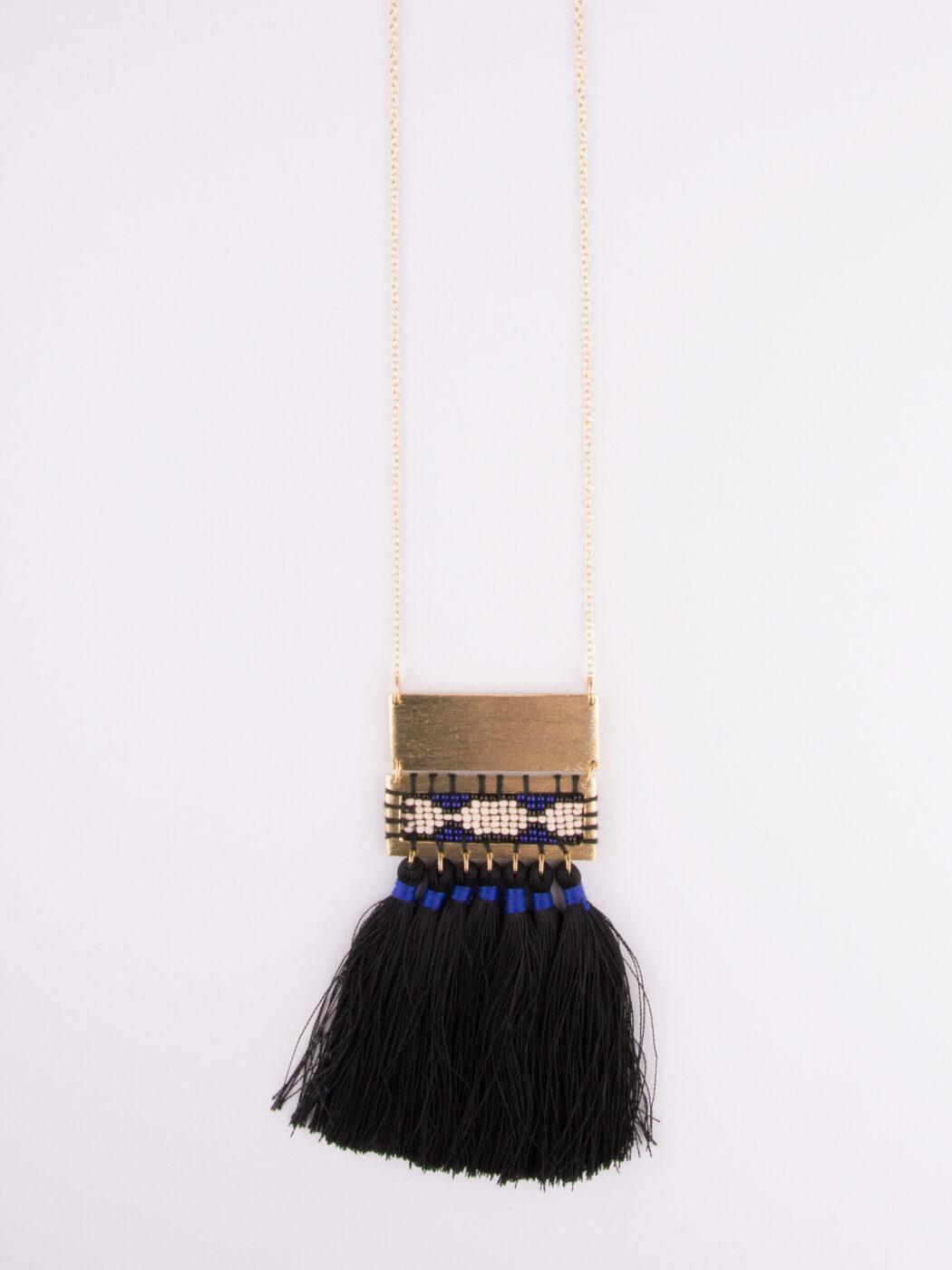 necklace_bohotassel_black