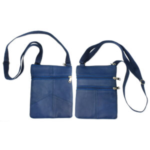 blue passport bag