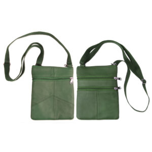 Green passport bag