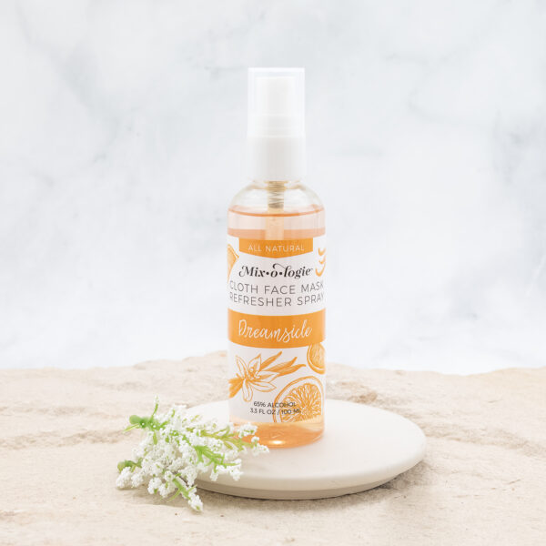 cloth mask refresher spray dreamsicle