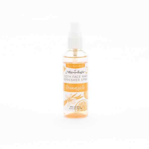 cloth mask refresher spray dreamsicle scent