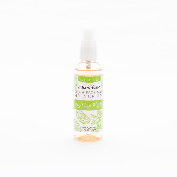 cloth mask refresher spray key lime mojito