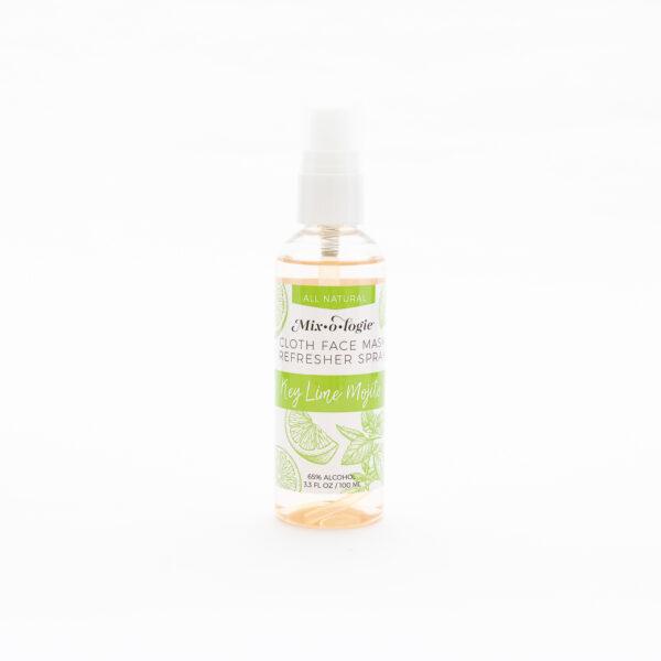 cloth mask refresher spray key lime mojito