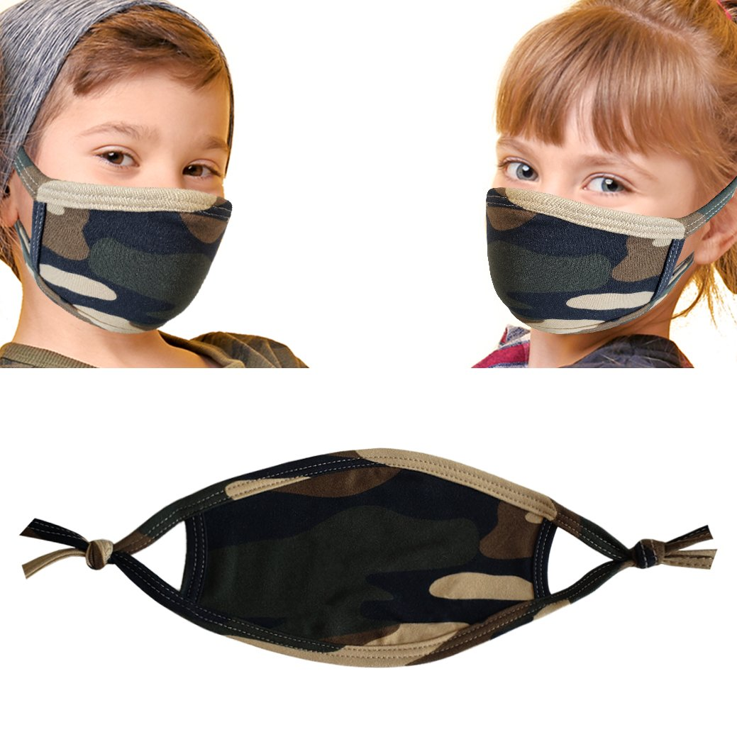 CAMO kids mask models