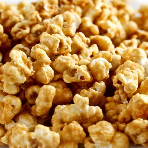 Amish Peanut Butter Schmeir popcorn