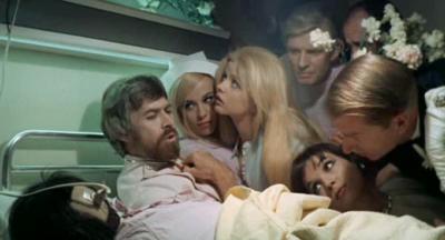James Coburn, Anita Pallenberg, Ewa Aulin + Elsa Martinelli - Candy (1968)