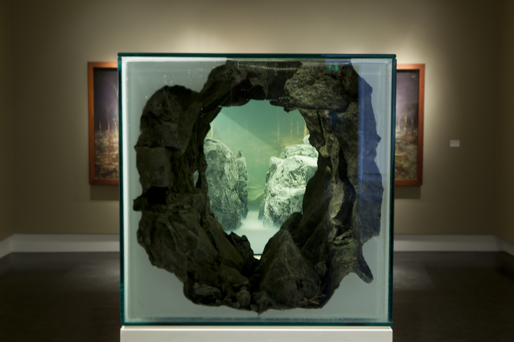 Screaming from the Montain Landscapes and viewpoints, Sørlandets Kunstmuseum. Kristiandsand