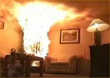 burning-christmas-tree