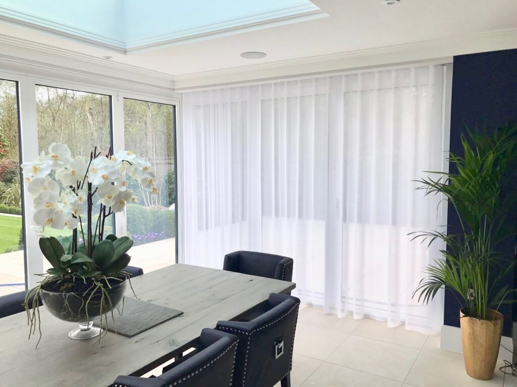 Sheer Wave Curtains-Gerrards Cross_Private Client