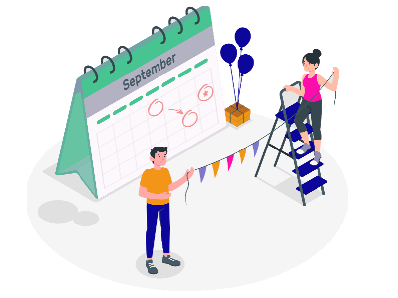 event management section image