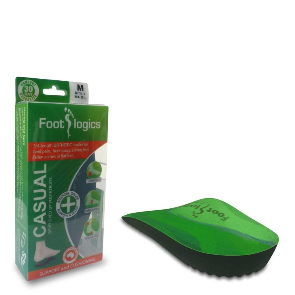 Footlogics Casual Insoles - Best flat foot insoles in chennai