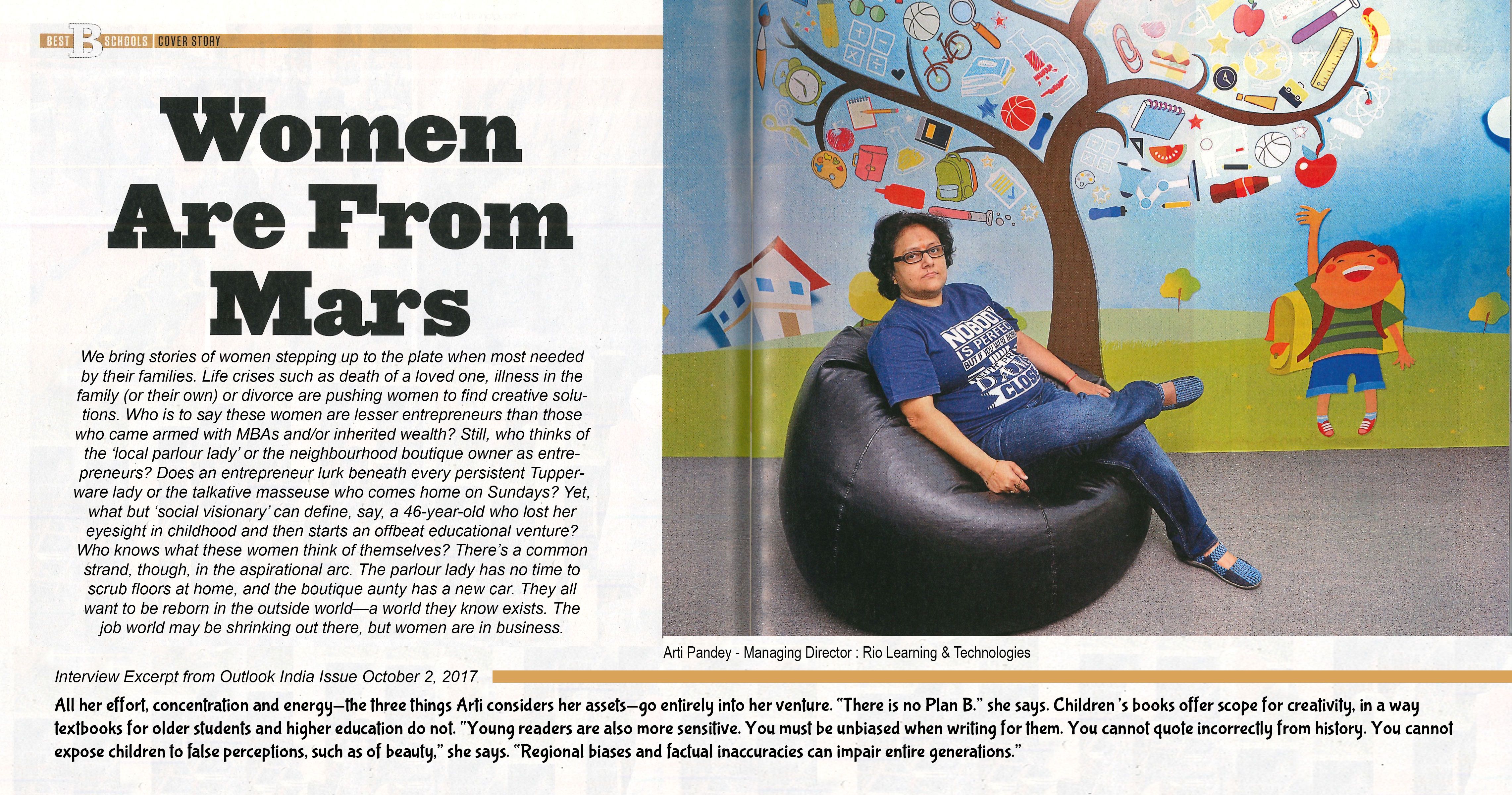 Featured in Outlook India