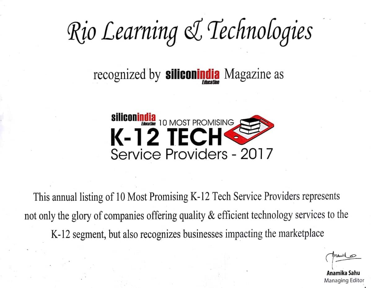Top 10 Most Promising K-12 Tech Service Provider