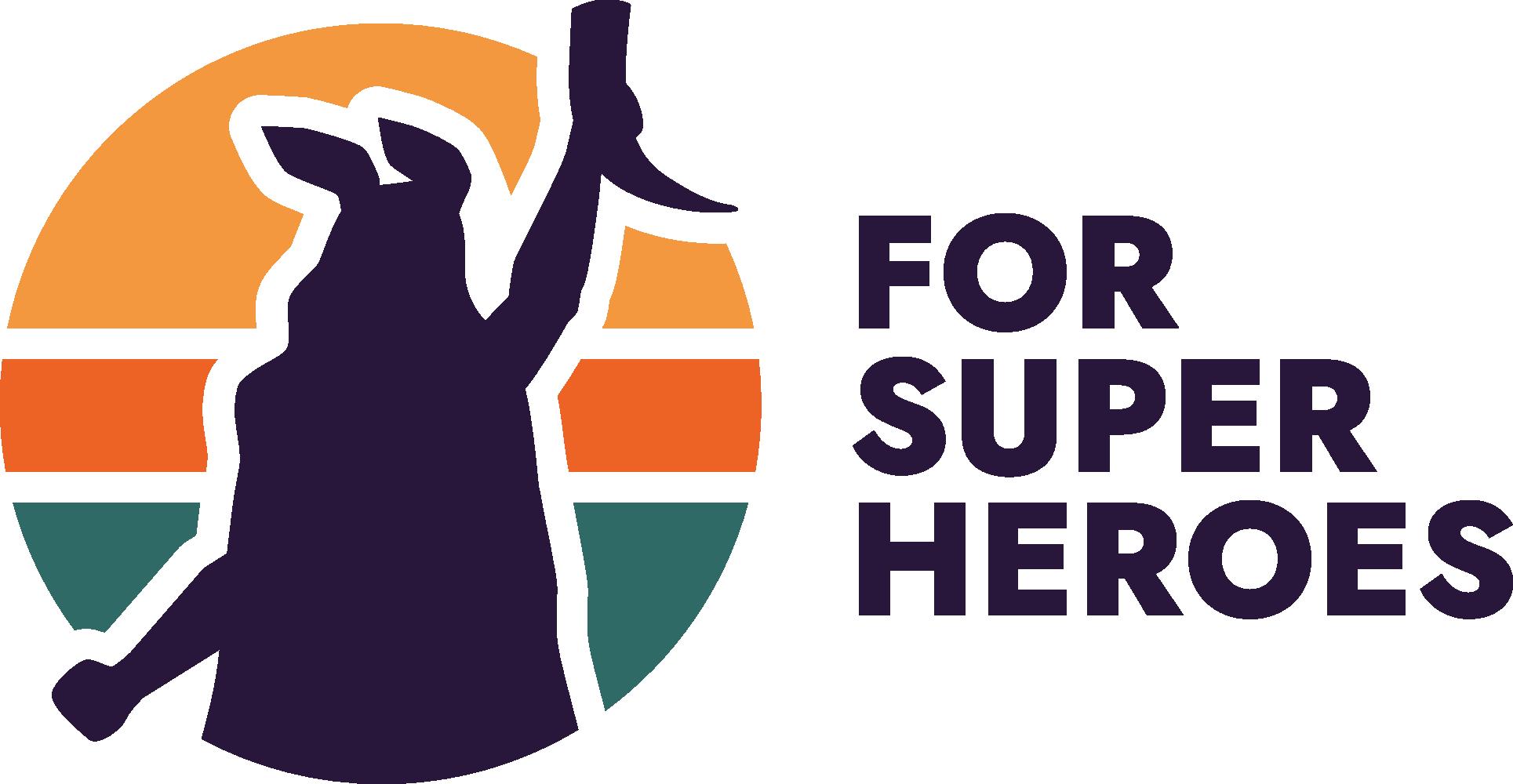 ForSuperHeroes Logo Berlin Food Startup