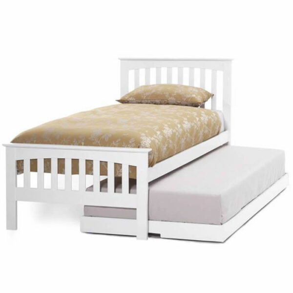 Serene Amelia White Guest Bed