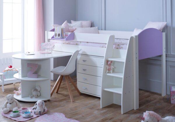 Kids Avenue Eli D Mid sleeper Cabin Bed