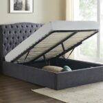 Limelight Rosa Storage Bed Dark Grey