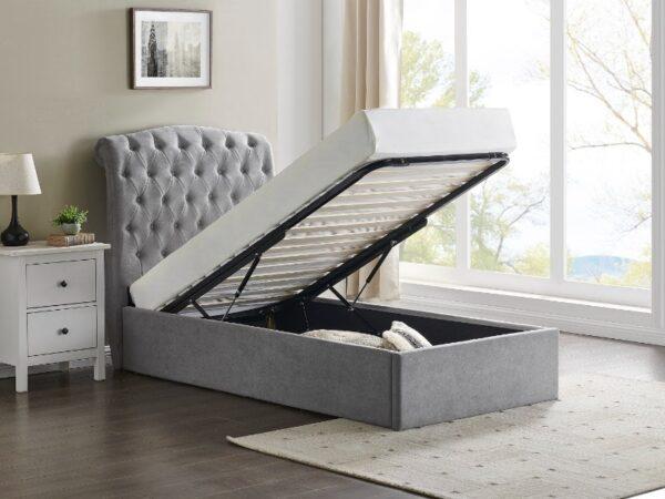 Limelight Rosa Storage Bed Grey