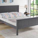 Limelight Taurus Dark Grey Wooden Bed
