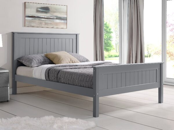 Limelight Taurus Grey Wooden Bed