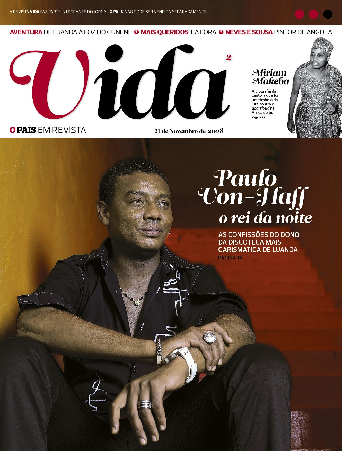 Capa da revista Vida n.º 2