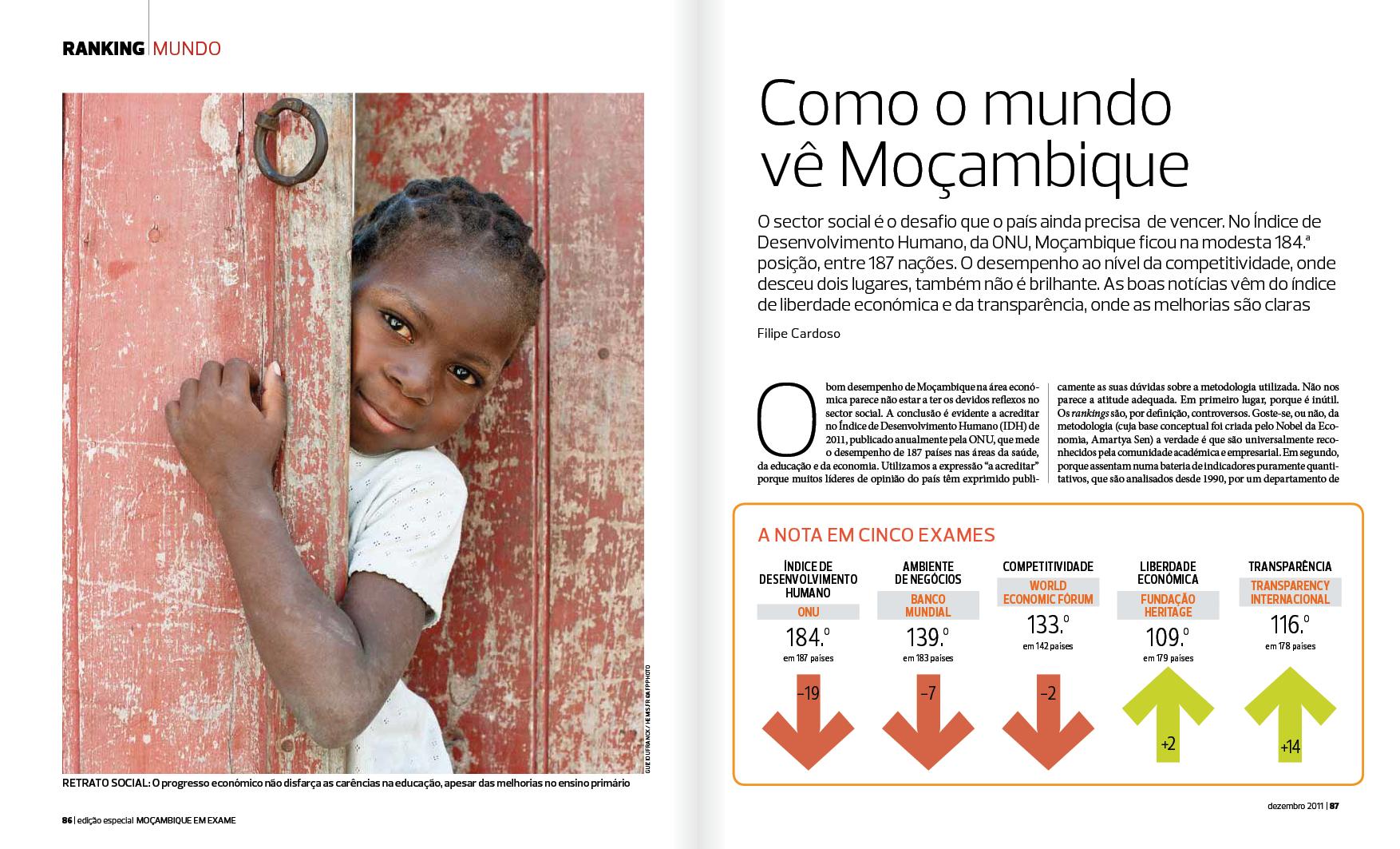 Exame Moçambique n.º 0 — Dezembro 2011