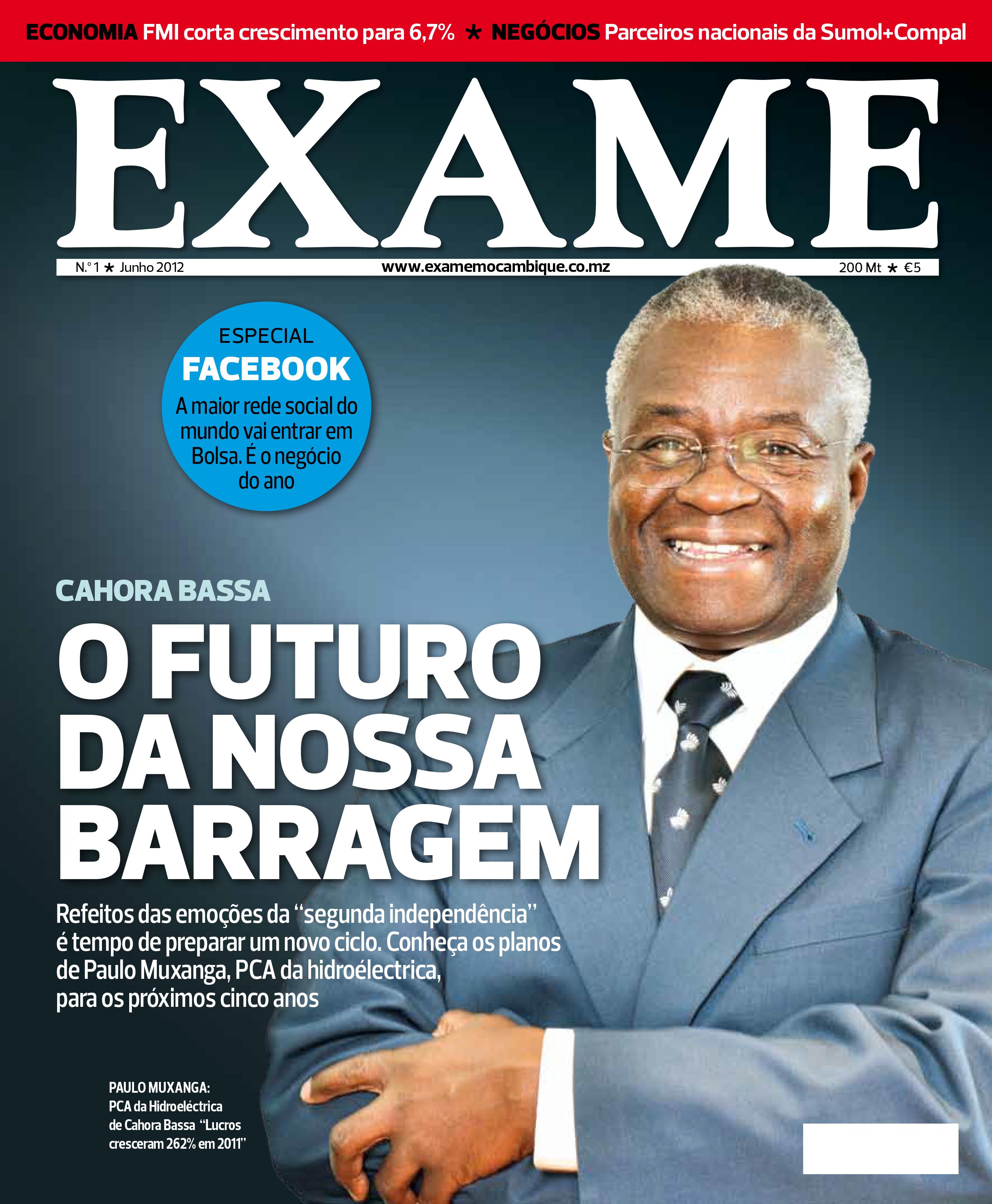 Capa Exame Moçambique n.º 1